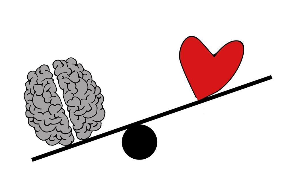 Dois-je écouter mon cœur ou mon cerveau ?